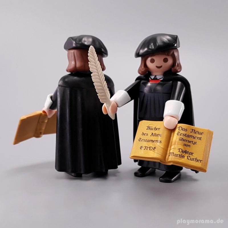 Martin Luther mit dem alten Testament