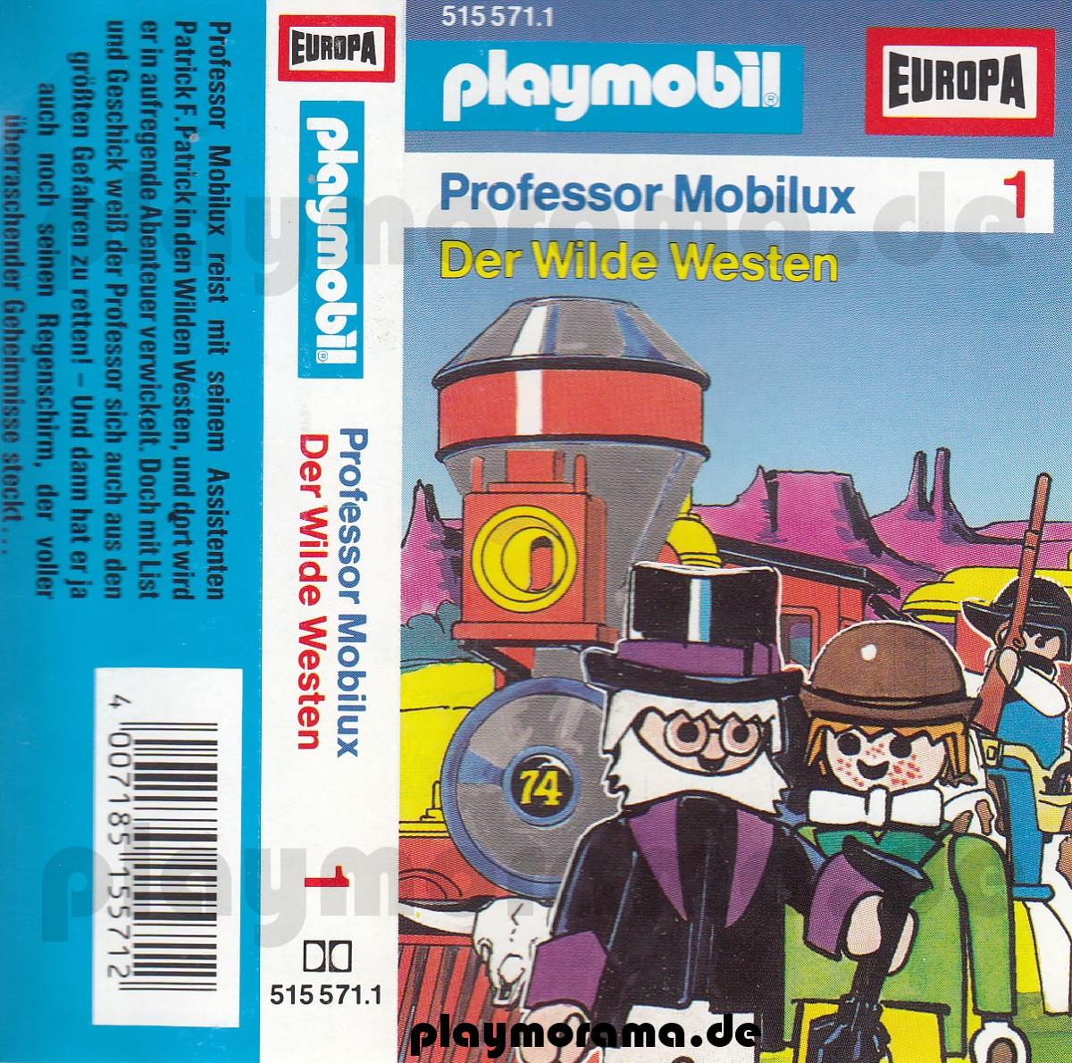 Cover Folge 1 der MC Professor Mobilux - Der Wilde Westen