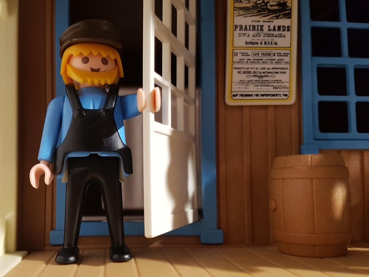 Lokführer der Westernlok an der Western Station
