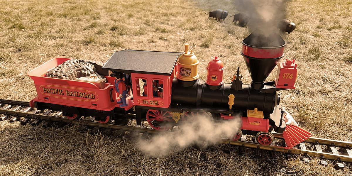 Playmobil Westernlok mit Tender Steaming Mary 4054