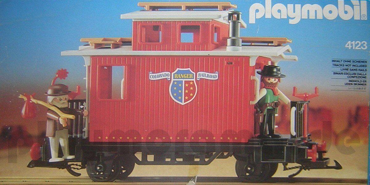 Playmobil 4123 Begleitwagen Verpackung OVP
