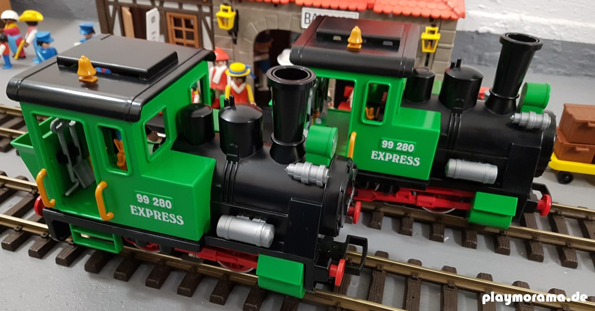 Dampflok aus Personenzug-Set 4005-A