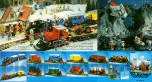 playmobil Eisenbahn Katalog 1981