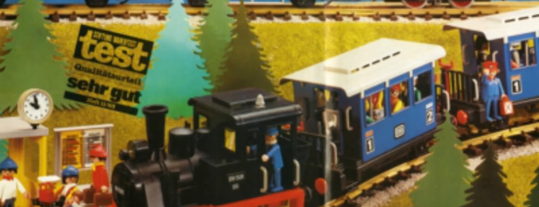 Playmobil Eisenbahn wurde bereits im Jahre 1983 von der Stiftung Warentest ausgezeichnet