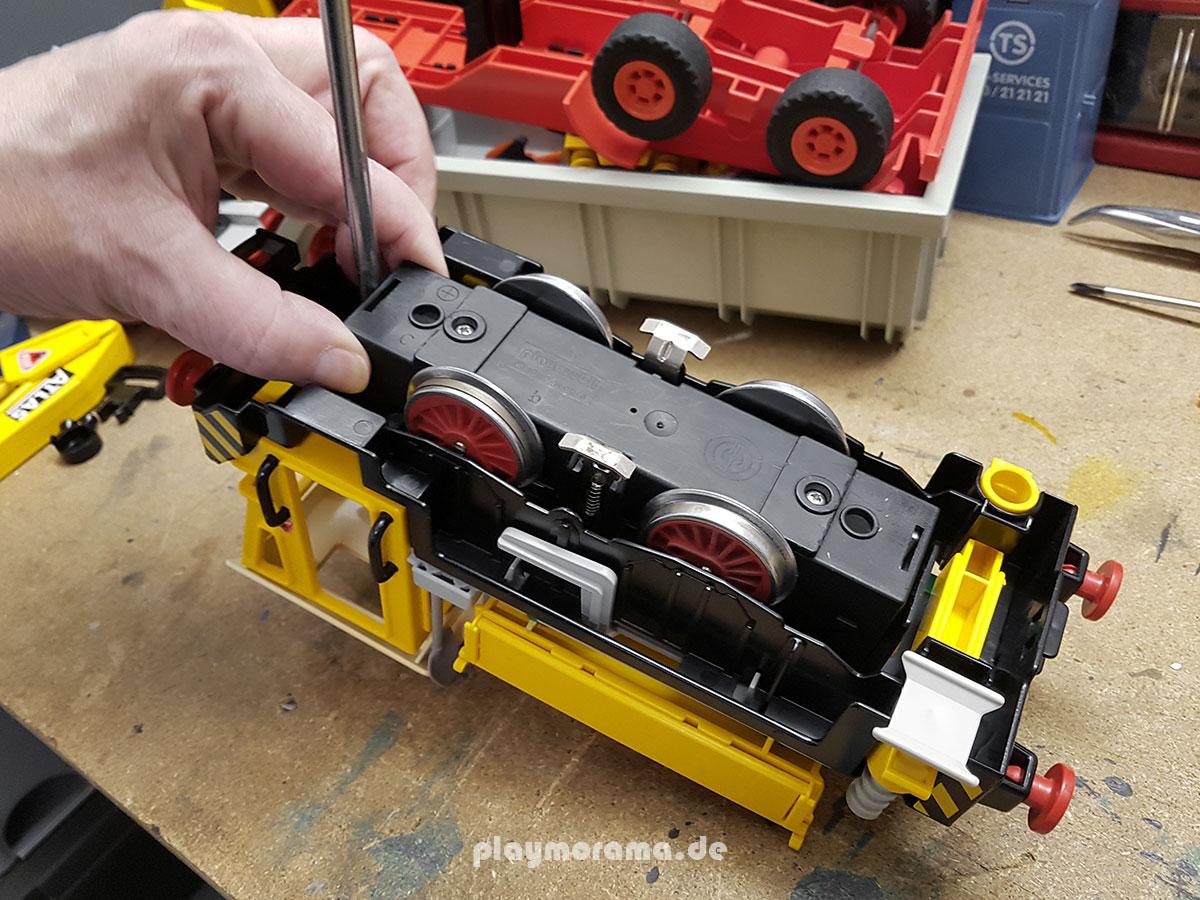 Für ältere Playmobil-Eisenbahn Modelle gibt es auch heute noch genügend Ersatzteile