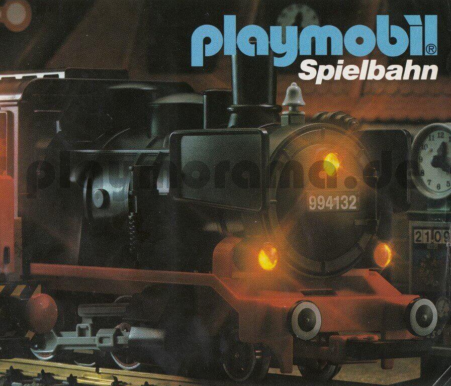 Playmobil Katalog Spielbahn 1985