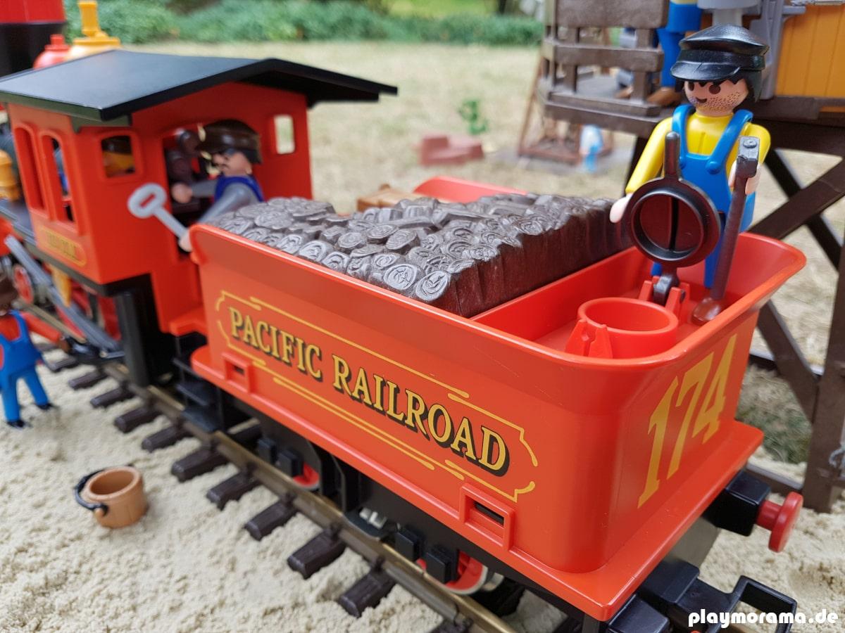 Die Playmobil Western-Eisenbahn