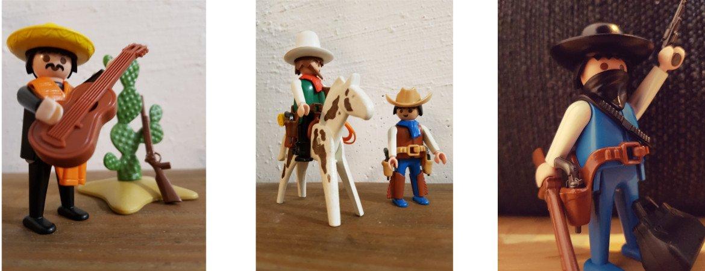 Playmobil Sammlung Western Kindheit
