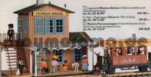 Western Bahnhof Colorado Springs 3770