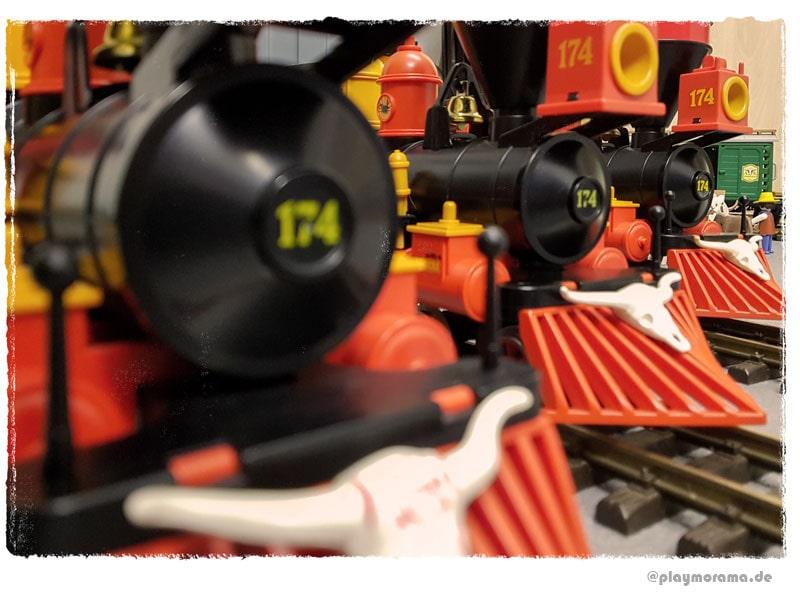 Playmobil Westernlok Steaming Mary 4054 als begehrtes Sammlerobjekt