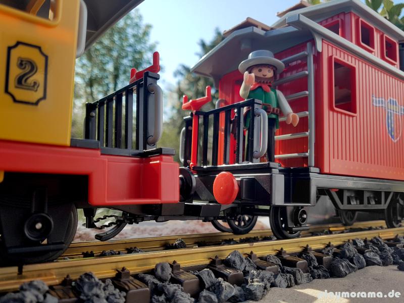 Playmobil Western Begleitwagen aus dem Westernzug Set 3958