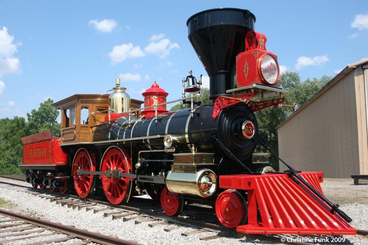 """Das Vorbild und die Vorlage der Playmobil Western Lok """"Steaming Mary"""""""