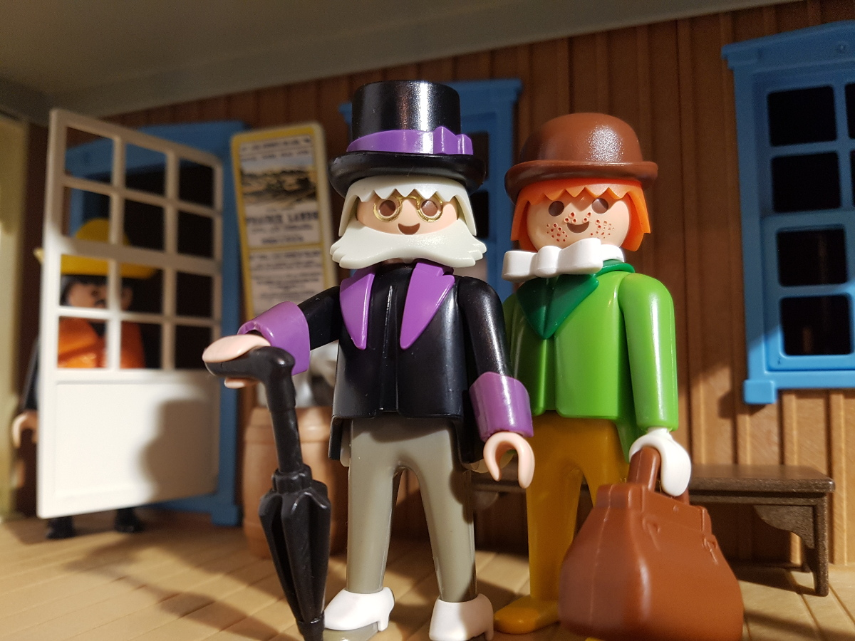 Playmobil Professor Mobilux und sein Assistent Patrick F. Patrick 3099