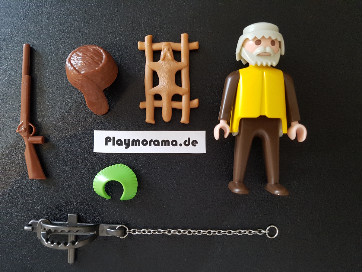 Teile Übersicht Playmobil Trapper 3394