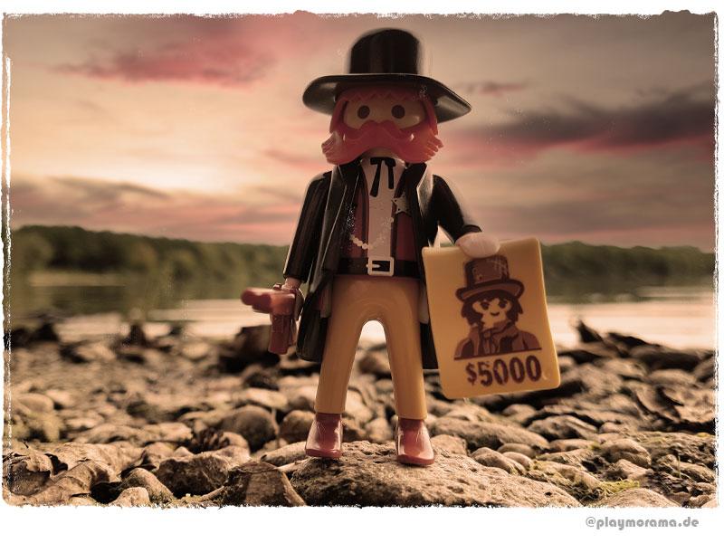 Der Sheriff mit Steckbrief