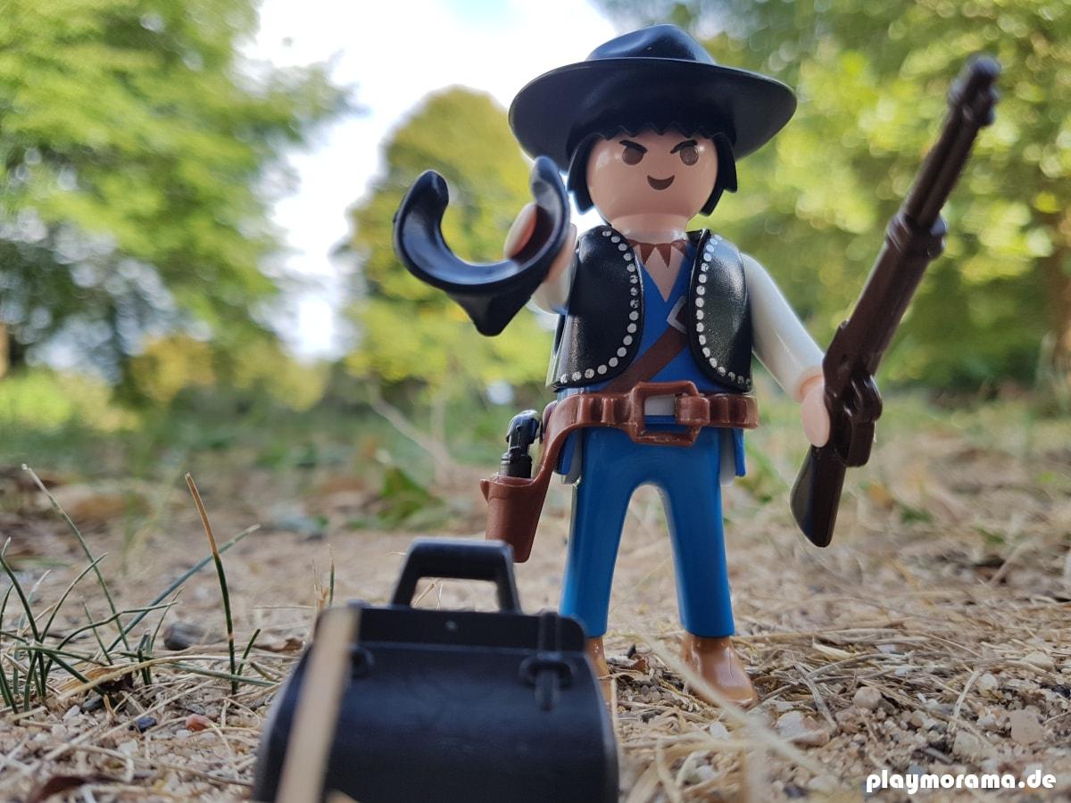 "Der Playmobil Western Bandit Joe ""Bonecrash"" Stone - Custom Remake Playmobil Bandit 3383 von 1986"