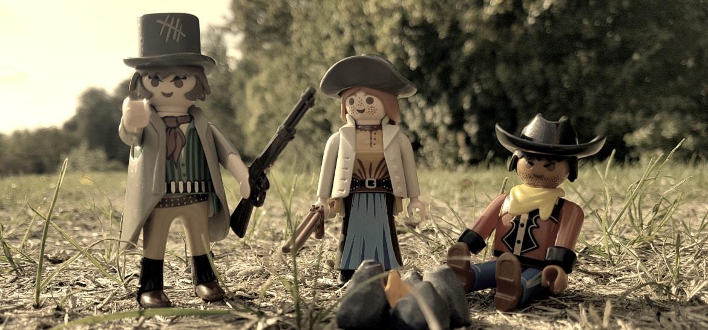 Playmobil Western Banditen aus Set 6546