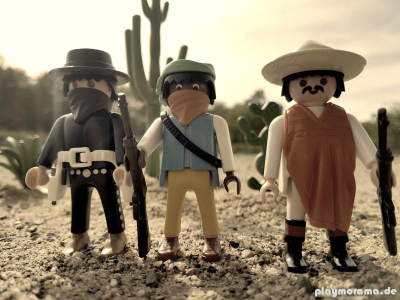 Playmobil Western Banditen aus Set 3748