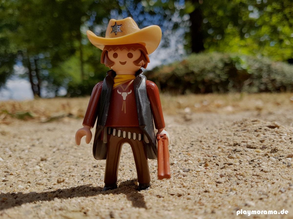Playmobil Western-Sheriff mit Schrotflinte 6277