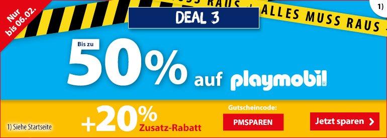 Playmobil Angebote - Jetzt 50% sparen auf Playmobil