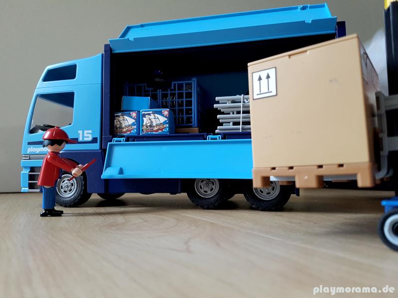 Playmobil LKW 6437 mit Ersatzteillieferung aus dem Directservice