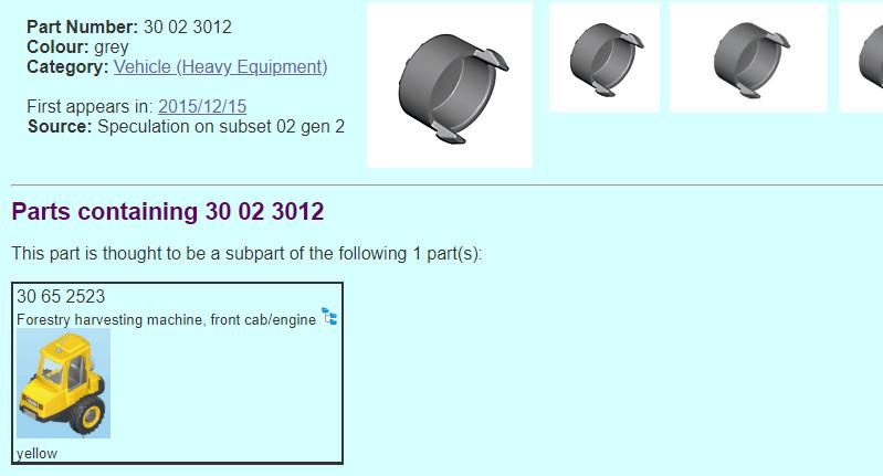 Neue Radkappen für den Playmobil Radlader bei playmodb.org gefunden