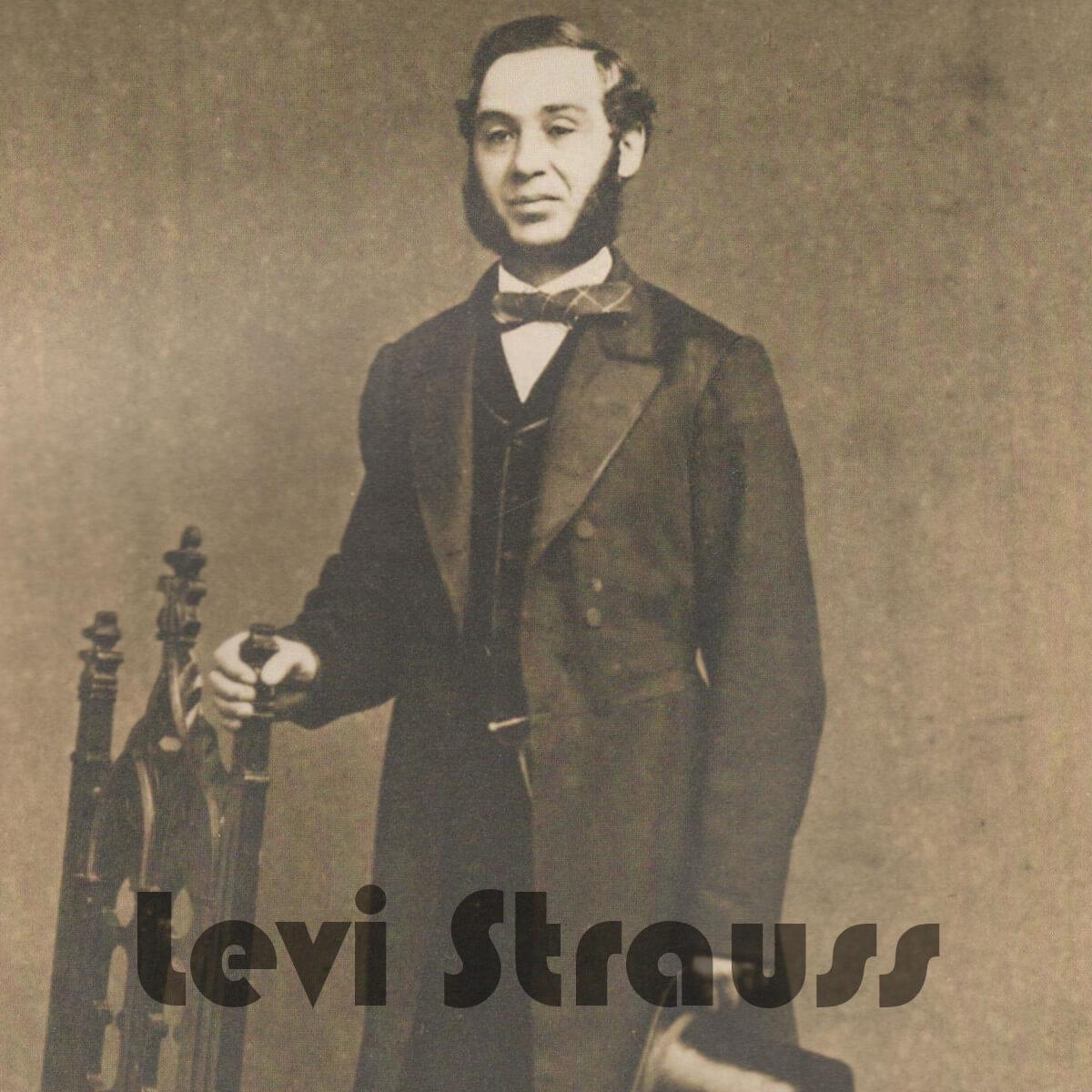 Ein historisches Foto von Levi Strauss