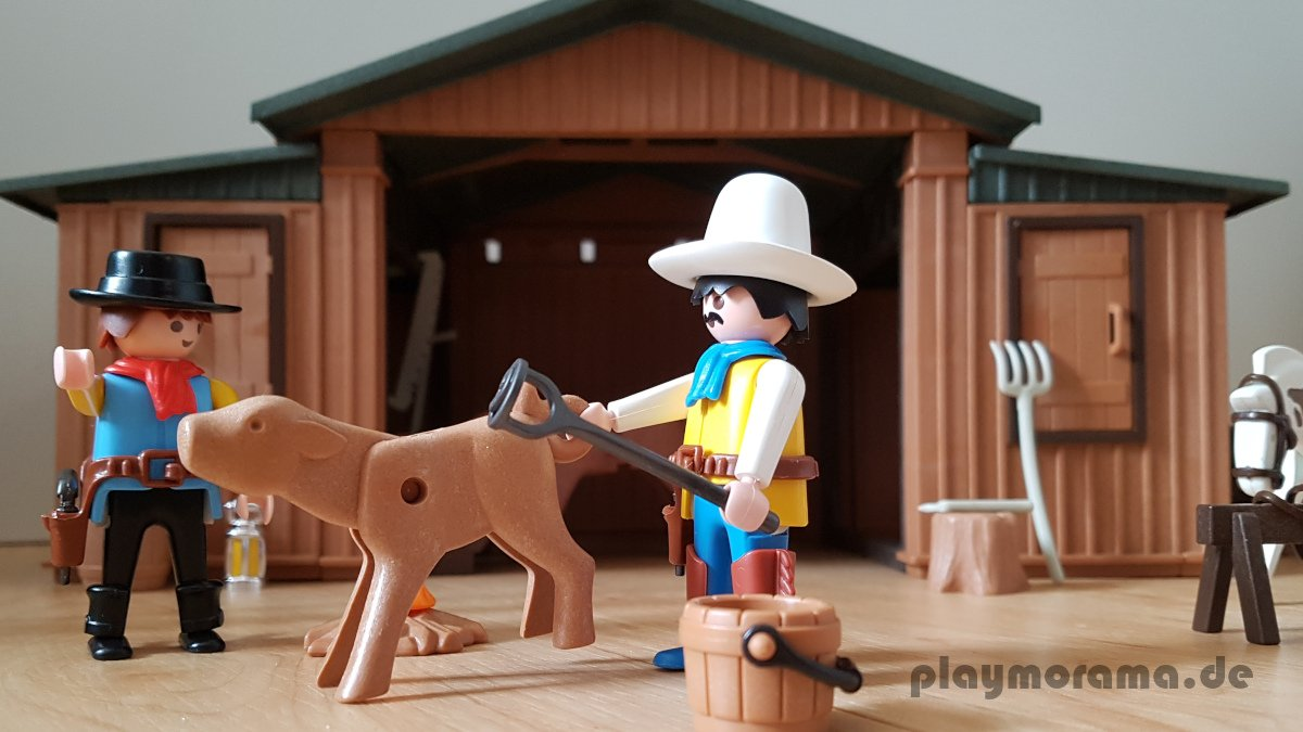 Figuren der Silver Ranch 3768 - Pferdezüchter auf der Silver Ranch