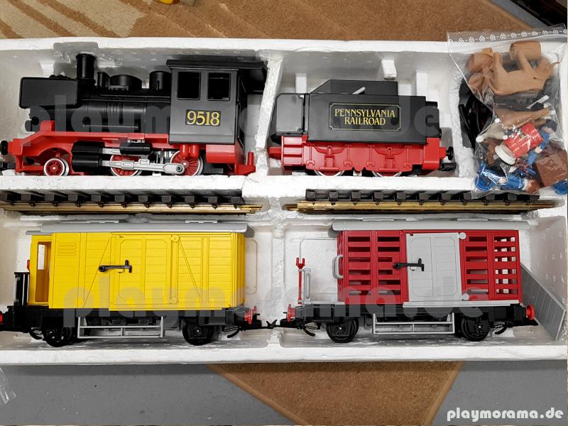 Playmobil Güterzug aus den USA