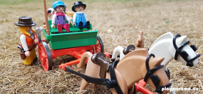 3804 Western Buckboard Farmwagen