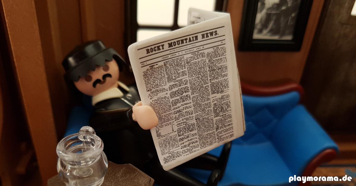 Keine Berichte von Duellen am high noon in der Lokalzeitung Rocky Mountain News
