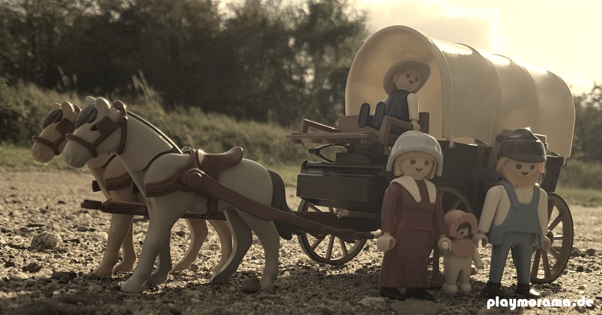 Western-Planwagen 3278 von Playmobil