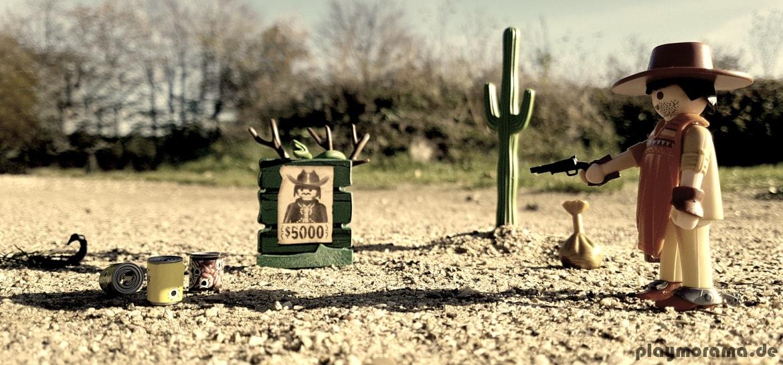 Playmobil Western Revolverheld 9083