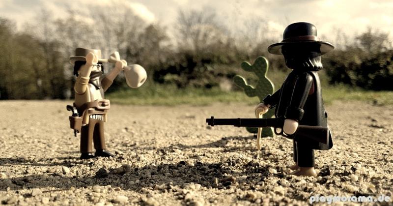 Kopfgeldjäger bringt Revolverheld nach Banküberfall zur Strecke
