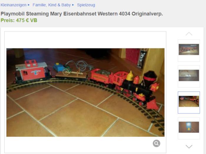 Dieses Angebot der Playmobil Western-Eisenbahn ist ein schlechter Witz