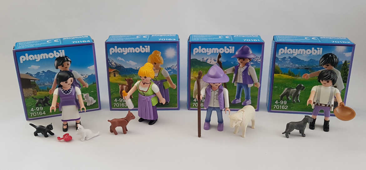 Playmobil Milka Sonderedition Figuren