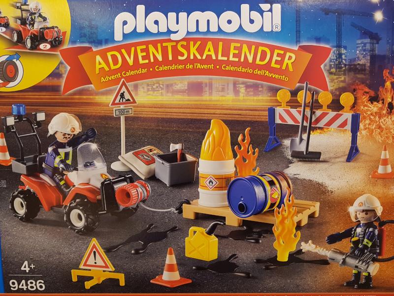 """Der """"Feuerwehreinsatz auf der Baustelle"""" ist perfekt für kleine Feuerwehrmänner"""