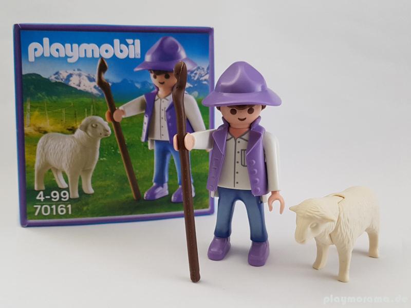 Playmobil Milka Figur 70161 - Schäfer mit Schaf