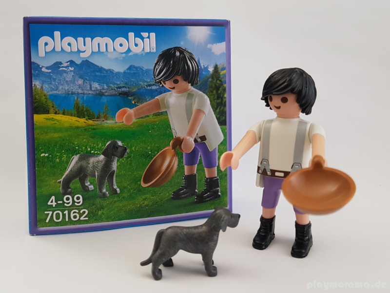 Playmobil Milka Figur 70162 - Mann mit Hund