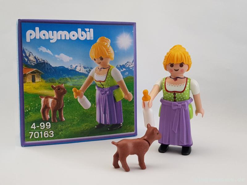 Playmobil Milka Figur 70163 - Frau mit Zieglein