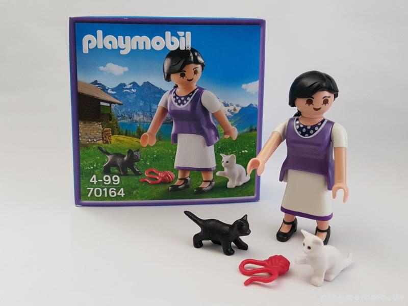 Playmobil Milka Figur 70164 - Frau mit Katzen