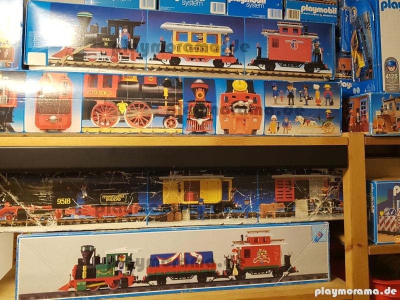 Meine Playmobil Westernzug Sammlung