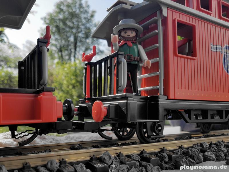 Playmobil Western-Begleitwagen Caboose 4123 mit Ranger