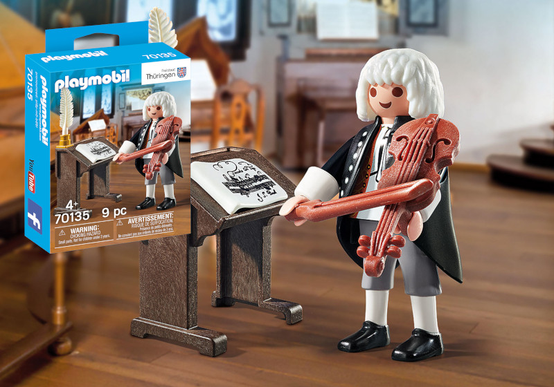 Motiv und Verpackung Playmobil J.S. Bach 70135