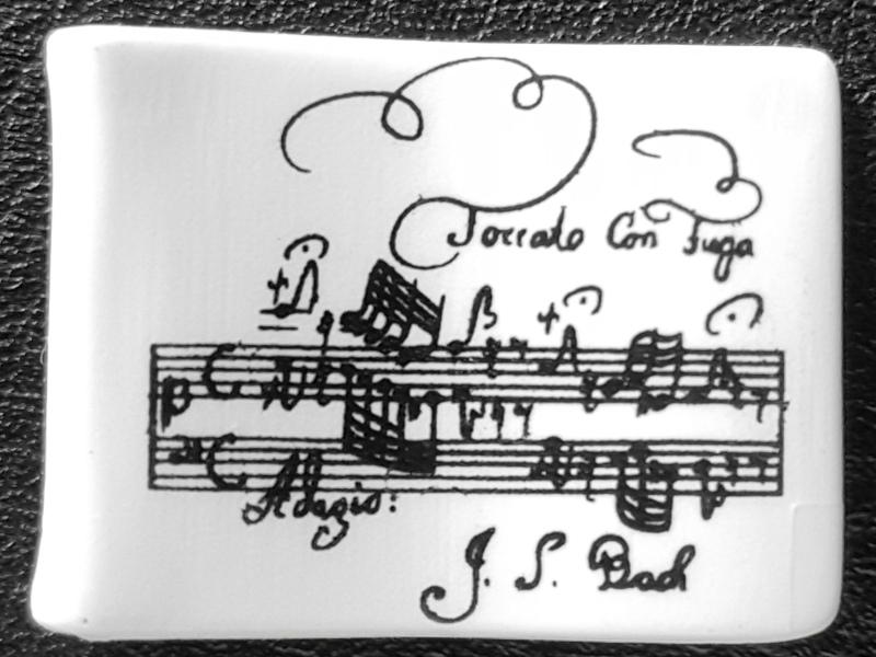 Notenblatt - Aufzeichnung der Kompositionen