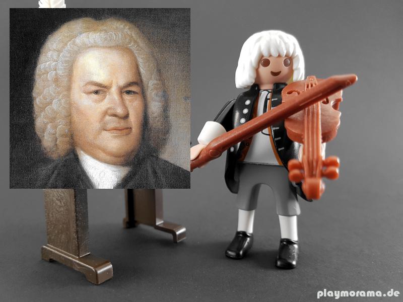 Komponist Johann Sebastian Bach