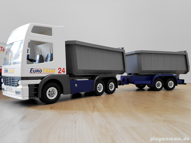 Custom Umbau | Kipplaster mit Anhänger 9370