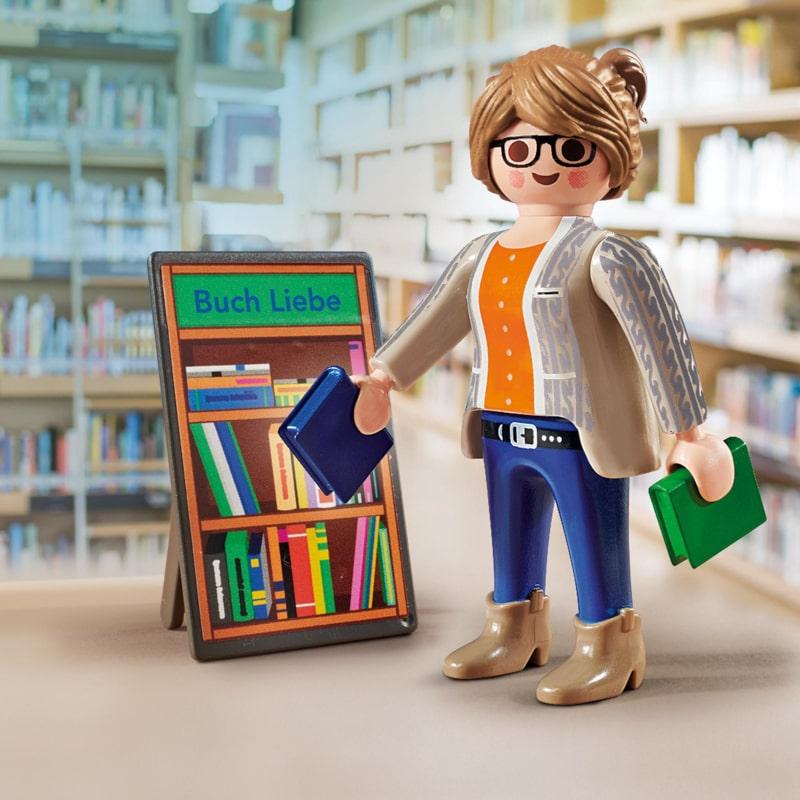 70458 Playmobil Die Buchhändlerin