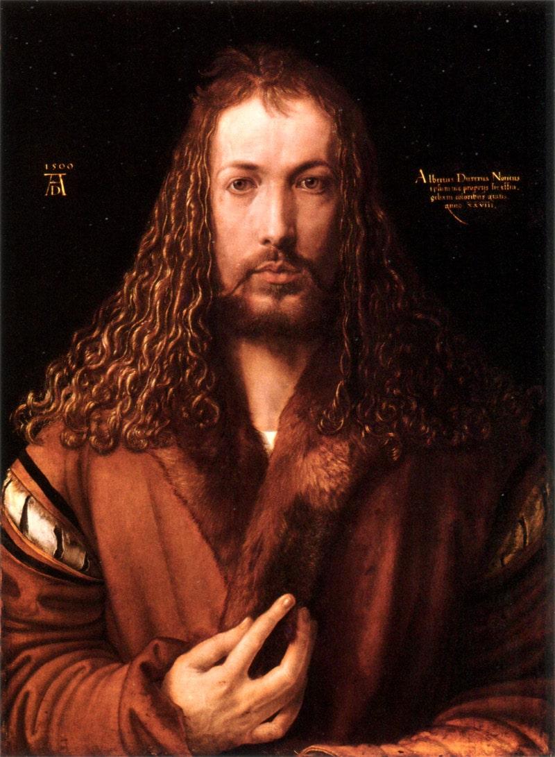 Das weltberühmte Selbstbildnis von Albrecht Dürer