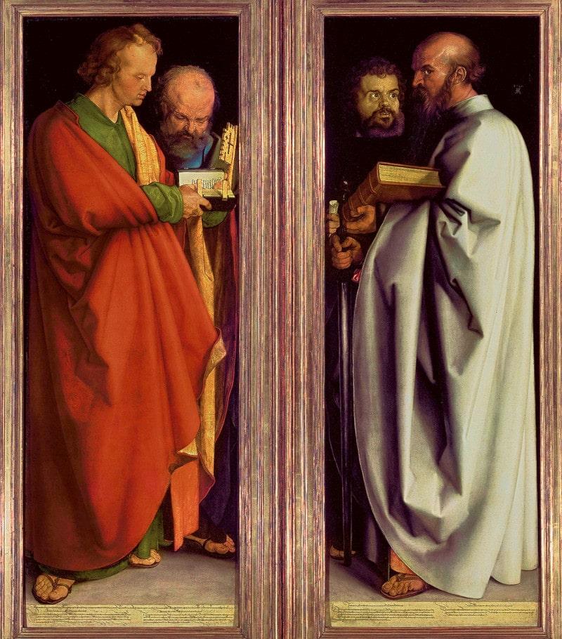 Die vier Apostel sind zwei zusammengehörige Gemälde (Diptychon) des Malers Albrecht Dürer aus dem Jahr 1526